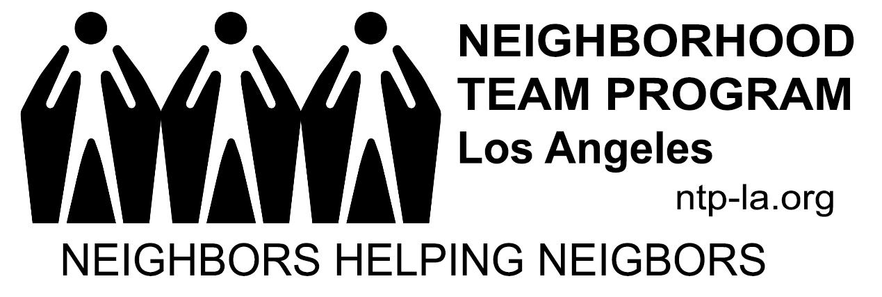 NTP-LA Logo Black on White